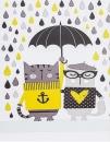Mini album pro 100 fotek 10x15 Cats rain