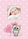 Fotoalbum 10x15 pro 300 fotografií Owls růžový