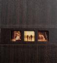 Klasický fotoalbum 60 strán Lifestyle tmavo hnedý
