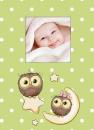 Fotoalbum 10x15 pro 300 fotografií Owls zelené