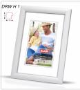 Fotorámeček 30x45 DRW H1 bílý