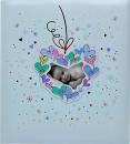 Klasické fotoalbum 60 stran  KPH Baby modré