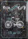 Fotoalbum 10x15 pro 200 fotografií Bike 2 modré