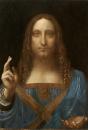 Salvator Mundi 70x50cm - Leonardo da Vinci