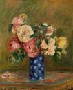 Kytice růží 30x40cm Pierre-Auguste Renoir