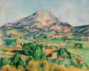 Mont_Sainte-Victoire 50x60 (1892) - Cézanne Paul