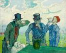 Pijáci 50x60cm - Vincent  Van Gogh