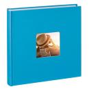 Klasické fotoalbum 100 stran Fine Art JUMBO tyrkys
