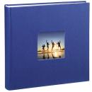 Klasické fotoalbum 100 stran Fine Art JUMBO modré