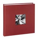 Klasické fotoalbum 100 stran Fine Art JUMBO bordó