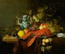 Humr na cínovém talíři 50x60cm - Laurens Craen
