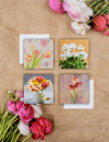 Album  10x15 pro 304 fotek Bouquet hnědé