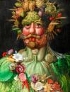 Rudolf II jako Vertumnus 50x65cm - Giuseppe Arcimboldo