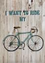 Fotoalbum 10x15 pro 200 fotografií Retro Bike tyrkys