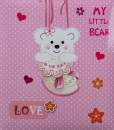 Album dětské 60 stran Teddy růžové