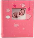 Fotoalbum 10x15 pro 500 fotek Bebe růžové