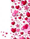 Album 13x18 pro 36 fotek Hearts 1 červené
