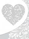 SAMOLEPÍCÍ album 40 stran Heart 1 stříbrné