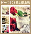Fotoalbum 10x15 pre 500 fotiek Terracotta béžový
