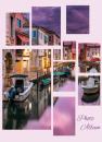 Fotoalbum 10x15 pre 200  fotiek Collage fialový