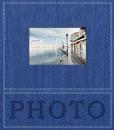 Klasické fotoalbum 60 stran Trendy modré