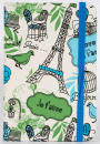 Zápisník Paris A6 blue