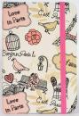 Zápisník Paris A6 pink
