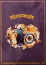 Fotoalbum 10x15 pro 300 fotografií Modern Camera oranžové