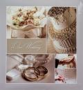 Klasické fotoalbum 60 stran Aryca Love šedé
