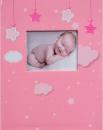 Album detské 10x15 pre 304 fotiek  Bebe ružový