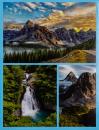SAMOLEPÍCÍ album 60 stran World modré