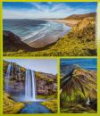 Fotoalbum 10x15 pre 500 fotiek World zelený