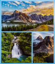 Fotoalbum 10x15 pre 600 fotiek World modrý