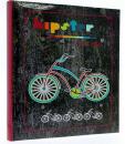 Fotoalbum 10x15 pre 500 fotiek Modern Bike vínový