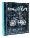 Fotoalbum 10x15 pre 500 fotiek Modern Bike tyrkys
