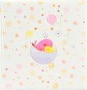 Klasické fotoalbum 60 strán Little Whale pink