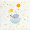 Klasické fotoalbum 60 strán Little Whale blue