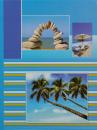 Album 10x15 pre 304 fotiek  Beach modrý