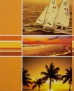 Album 10x15 pre 304 fotiek  Beach oranžový