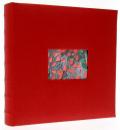 Fotoalbum 10x15 pre 500 fotiek VOGUE červený