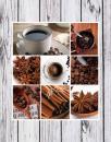 Fotoalbum 10x15 pre 200 fotiek Coffee šedý