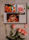 Album 10x15 pre 304 fotiek  Flower béžový