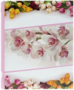 Fotoalbum 10x15 pre 600 fotiek Flower love ružový