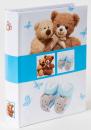 Album pre 200 fotiek 10x15 Bear modrý