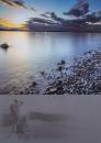 Fotoalbum 10x15 pre 200 fotiek Sunset 2 šedý