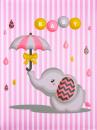 SAMOLEPÍCÍ album 40 stran Umbrella 2 růžové