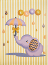 SAMOLEPÍCÍ album 40 stran Umbrella 3 žluté