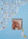 SAMOLEPÍCÍ album 60 stran Tiny 1 modré
