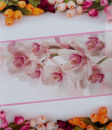 Fotoalbum 10x15 pre 500 fotiek Flower love ružový