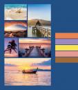 Mini album pre 100 fotiek 9x13 Cruise modrý